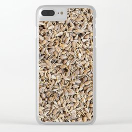 Anise Seeds Clear iPhone Case