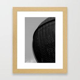 Domed Lattice Framed Art Print