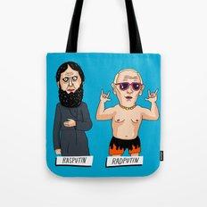 Rasputin and RadPutin Tote Bag
