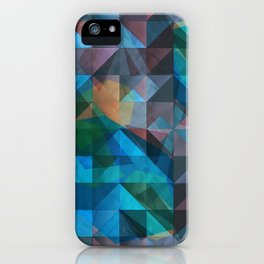 triangular shapes of power iPhone Case