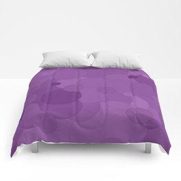 Dewberry Bubble Dot Color Accent Comforters