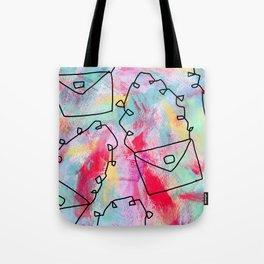 Grab Your Bag and Fly and See the World by Lenna Tote Bag