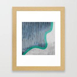River Swoosh Framed Art Print