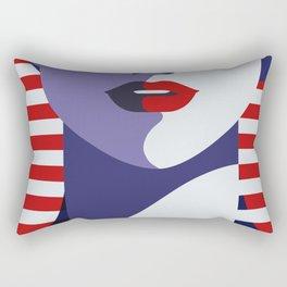 USA Flygirl Rectangular Pillow