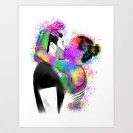 She is Art Art Print