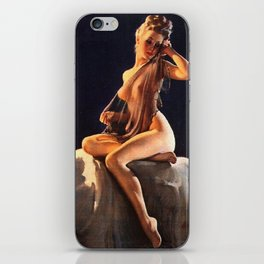 Pin Up Girl Adoration Gil Elvgren iPhone Skin
