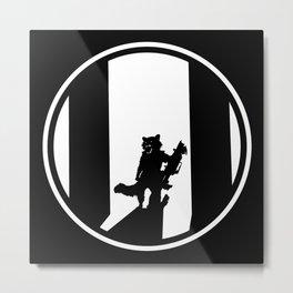 Rocket Raccoon Metal Print