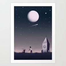 Keep Dreaming Art Print