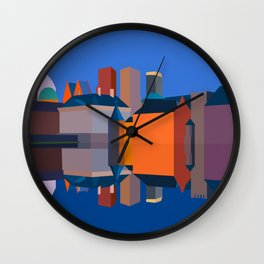 The Hague Double Faced Wall Clock