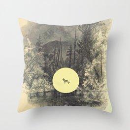 The shepherd Throw Pillow