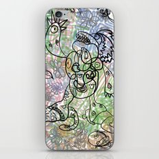 Anymanimals+Whatlifethrowsatyou    Nonrandom-art1 iPhone & iPod Skin