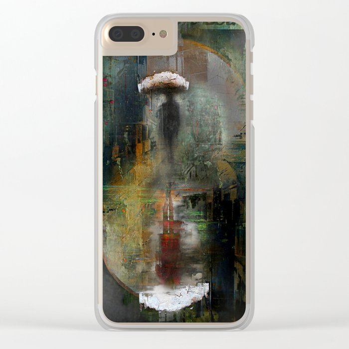 See you everywhere Clear iPhone Case