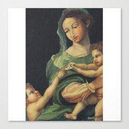 Roman Art - in Watercolor Canvas Print