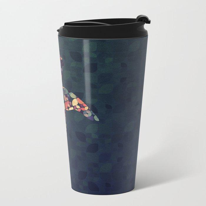 The Pattern Tortoise Metal Travel Mug
