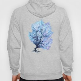 Fan Coral - Blue Hoody