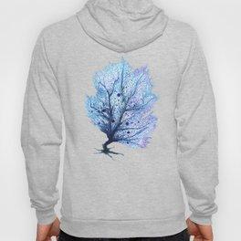 Fan Coral - Blue Hoody