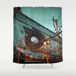Frankfurt Architecture Shower Curtain