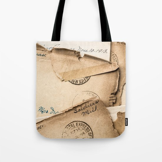 Soldier's Mail Tote Bag