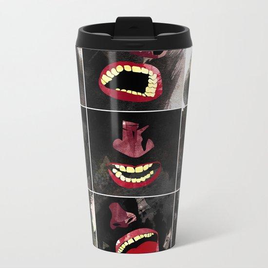 9 gritos Metal Travel Mug