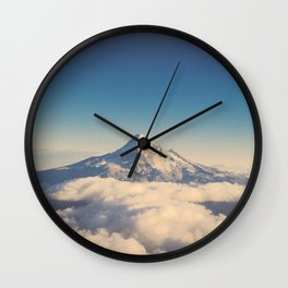 Mt. Hood Wall Clock