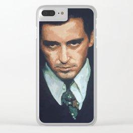 Al Pacino Clear iPhone Case