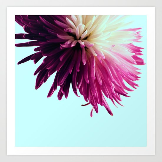 One Flower Art Print