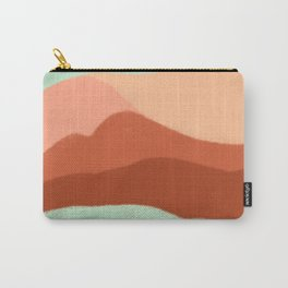 Abstract in Desert Carry-All Pouch