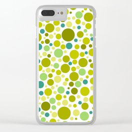 Colorful Bubble Party 2 Clear iPhone Case