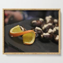 Date with a Twist Serving Tray