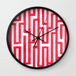 Enter the labyrinth Wall Clock