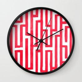 Enter the labyrinth Wall Clock