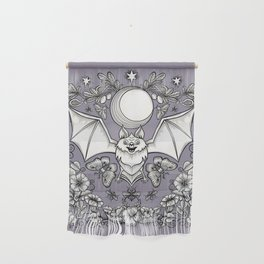 A Bat's Favorite Things Wall Hanging