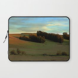 Last Moments of Sunset Glow, Sonoma County Hills Laptop Sleeve