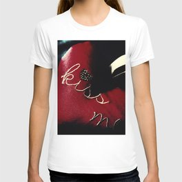 Kiss Me (Blood Red) T-shirt