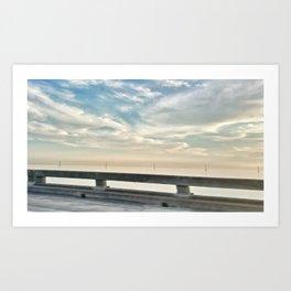 NOLA Bridge Art Print