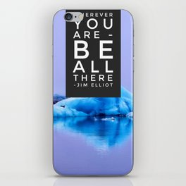Be All There iPhone Skin