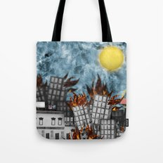 Hell Fire & McDonalds Tote Bag