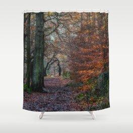 Shotley Bridge River Shower Curtain