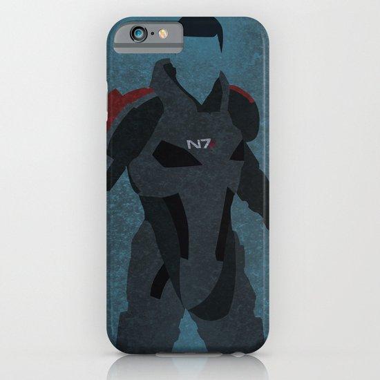 Commander Shepard iPhone & iPod Case