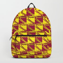 Checkered Dragonflies Backpack