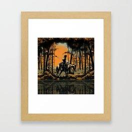 In the Evening (version 2) Framed Art Print