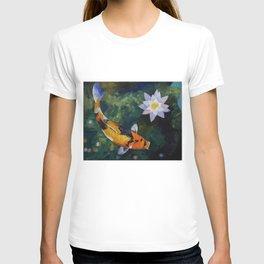 Showa Koi and Water Lily T-shirt