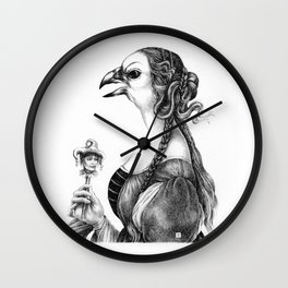 Tête-à-tête with Botticelli Wall Clock