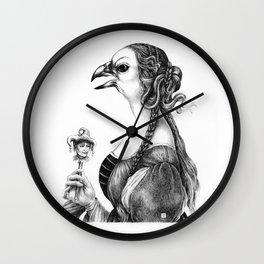 Tête-à-tête with Botticelli Wall Clock
