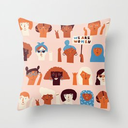 Women day Throw Pillow