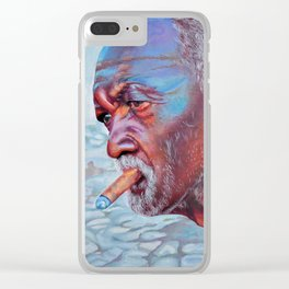 He was there everyday Clear iPhone Case