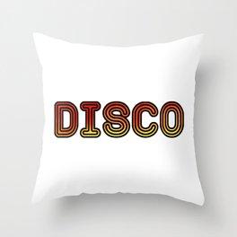 Disco Throw Pillow