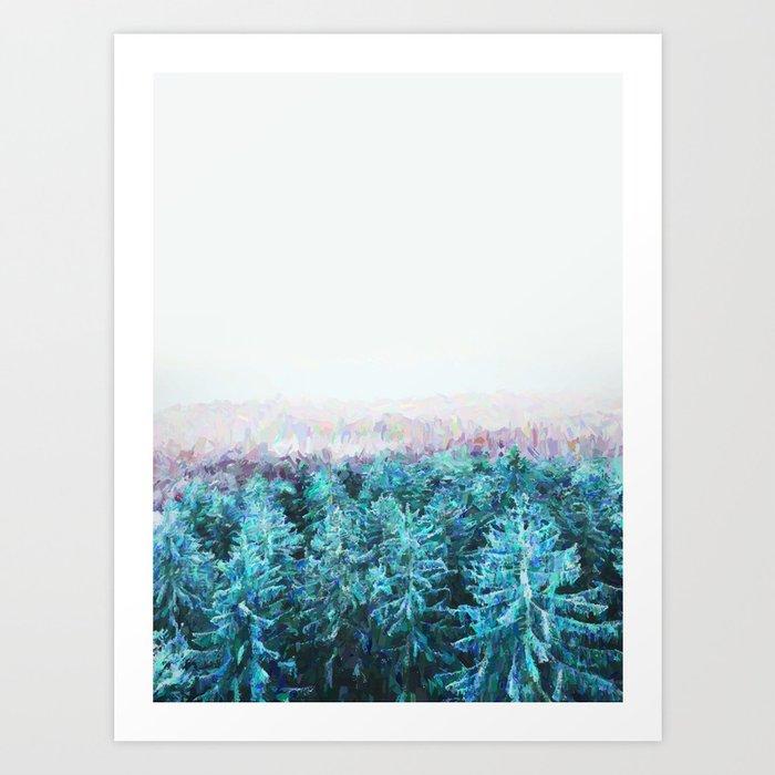 Tree Tops #society6 #buyart #decor Art Print