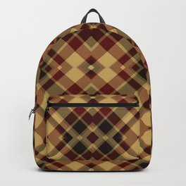 Colors Of Christmas (Plaid 3) Backpack