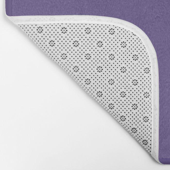 PANTONE 18-3838 Ultra Violet Bath Mat